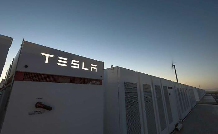 Tesla 100MW Lithium-ion battery in South Australia